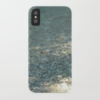 clear iPhone & iPod Cases featuring Clear by Françoise Reina