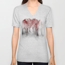 Cranberry Trees Unisex V-Neck