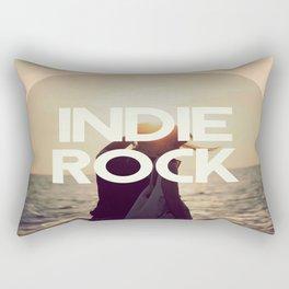 Indie Rock Rectangular Pillow