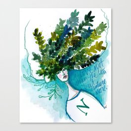 Mother N Canvas Print