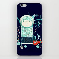 alien iPhone & iPod Skins featuring Alien by Nayoun Kim