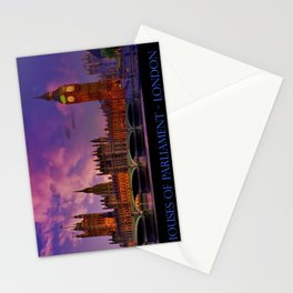 Houses of Parliament - London Stationery Cards