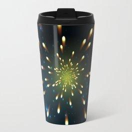 Firework  Shining Travel Mug