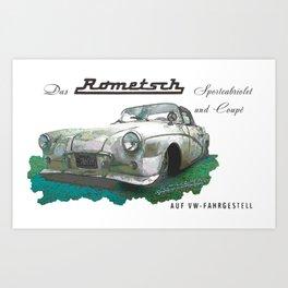 Rometsch Art Print