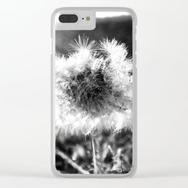 The Last Dandelion Clear iPhone Case