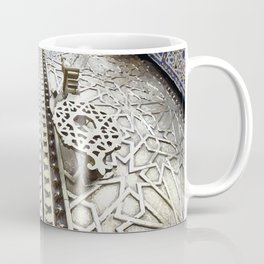 Marocco Door Mosaic Style Design Metal Coffee Mug