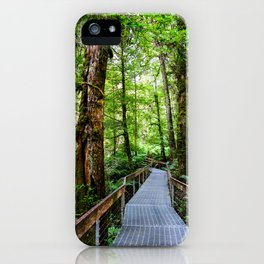Rainforest Gallery, Warburton, Victoria iPhone Case