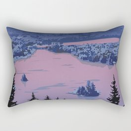 Parc National du Mont-Tremblant Rectangular Pillow