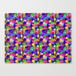 Paint Splodge Colour Abstract Canvas Print