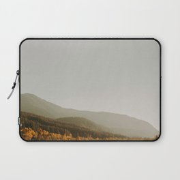 The Faded Forest on a River (Color) Laptop Sleeve