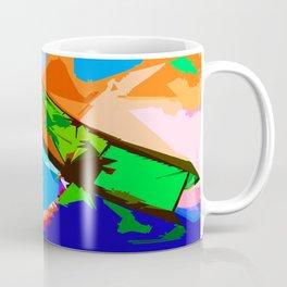 Biplane Aerobatics Coffee Mug