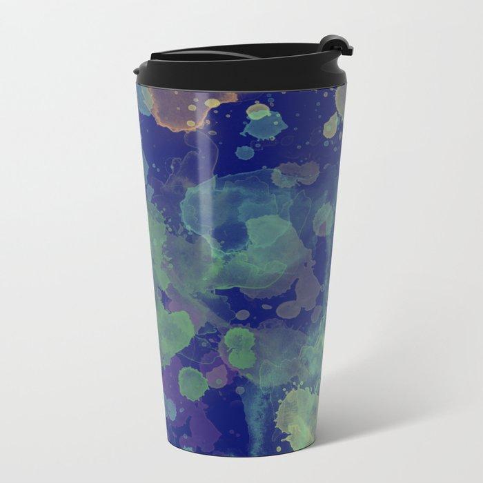 Abstract XV Metal Travel Mug