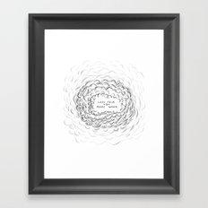IRONIC Framed Art Print