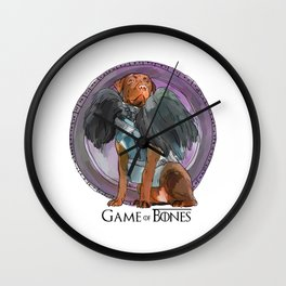 Game of Bones John Snow as a Lab Wall Clock
