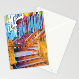 New York City Steps Stationery Cards