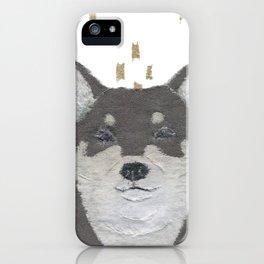 Shiba Inu, DOG, Black and Tan Shiba iPhone Case