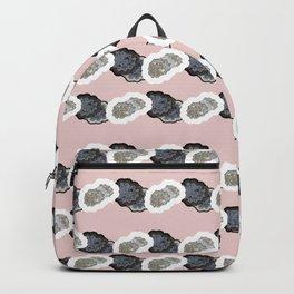Pink Dottie Stripe Backpack