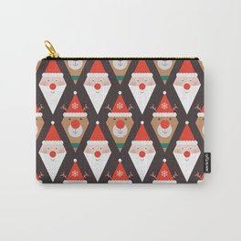 Day 03/25 Advent - Santa & Rudolph Carry-All Pouch