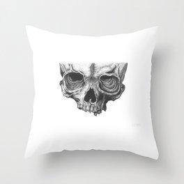 Skull 101 Throw Pillow