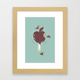Chocolate Toffee Framed Art Print