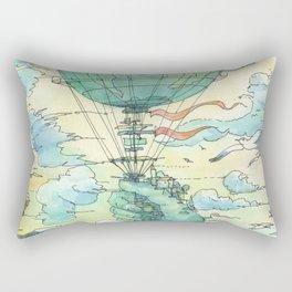 La Mongolfiera Rectangular Pillow