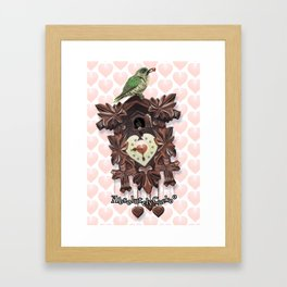 Absolutely Cuckoo by Lee Moyer Framed Art Print