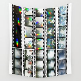 Film Strips From Outer Space Wall Tapestry