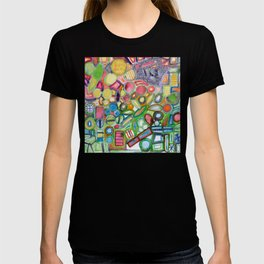 Cheerful Colorful Collection T-shirt