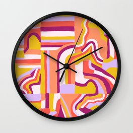 LOLA, Geo Abstract Wall Clock