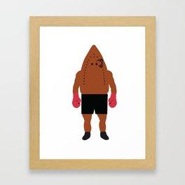 Iron Mike Tyson Framed Art Print