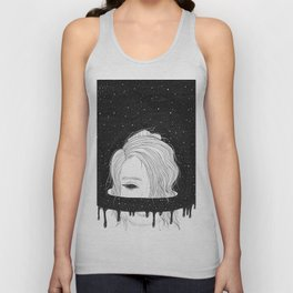 Spaced Out Unisex Tank Top