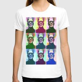 Frankenstein Pop Art T-shirt