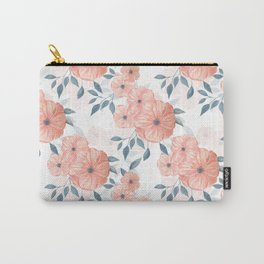 Seamless watercolor floral illustration. Carry-All Pouch