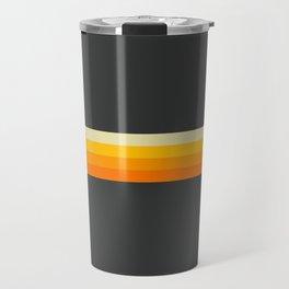 Hideharu - Classic 90s Retro Stripes Travel Mug