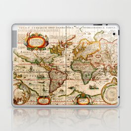 Vintage Map Laptop & iPad Skin