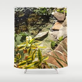 Bamboo Spring Shower Curtain