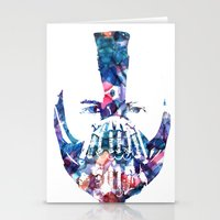 bane Stationery Cards featuring Bane by NKlein Design