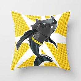 The Batfish Throw Pillow