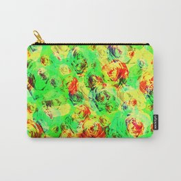 Abstract Roses - Tropical Vibes Carry-All Pouch