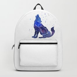 Galaxy Wolf Lupus Constellation Backpack