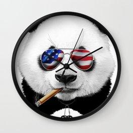 American Panda Wall Clock