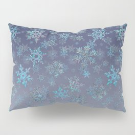 Christmas tree & snow v.2 Pillow Sham