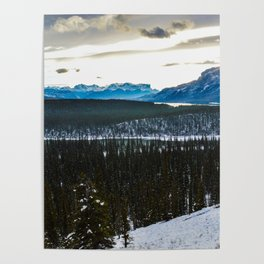 On route to Brule Alberta, Canada Poster