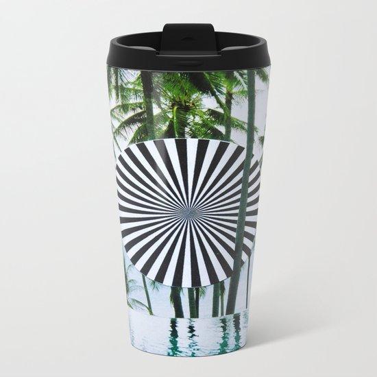 Tropical Trance Metal Travel Mug