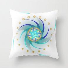 Fleuron Composition No. 118 Throw Pillow