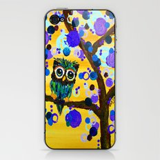 :: Sunshine Gemmy Owl :: iPhone & iPod Skin