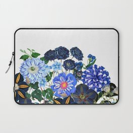 Vintage & Shabby Chic - Blue Flower Summer Meadow Laptop Sleeve