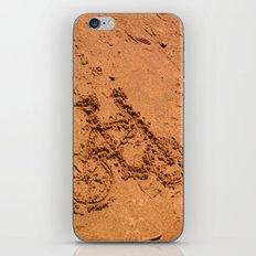 sand bicycle iPhone & iPod Skin