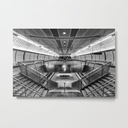 Hudson Yards Subway Station Metal Print