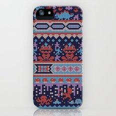 serbian history told through cross-stitch Slim Case iPhone (5, 5s)